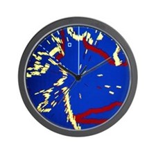 Boat's radar screen - Wall Clock