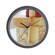 Cheese selection - Wall Clock