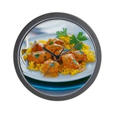Chicken curry - Wall Clock