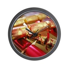 Christmas crackers - Wall Clock