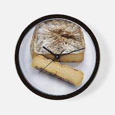 Brie cheese - Wall Clock