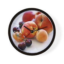 Assortment of summer fruit - Wall Clock