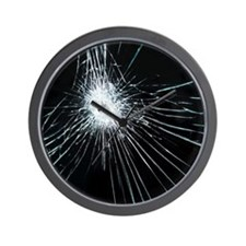 Broken glass - Wall Clock