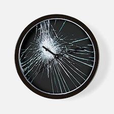 Broken glass - Wall Clock