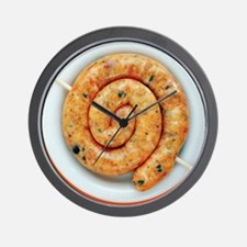 Coiled sausage - Wall Clock