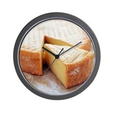 Camembert cheese - Wall Clock