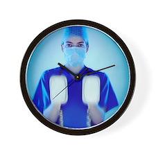 Defibrillator - Wall Clock