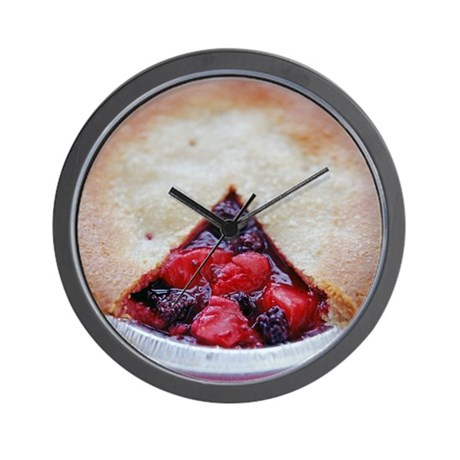 Fruit pie - Wall Clock