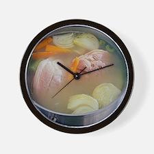 Pork stew - Wall Clock