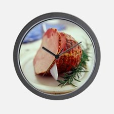 Sliced ham - Wall Clock