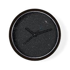 Andromeda starfield - Wall Clock