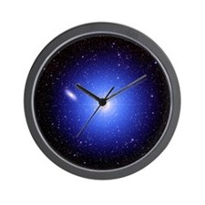 Galaxy and star - Wall Clock