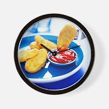 Chicken nuggets - Wall Clock