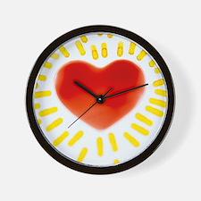 Healthy heart - Wall Clock