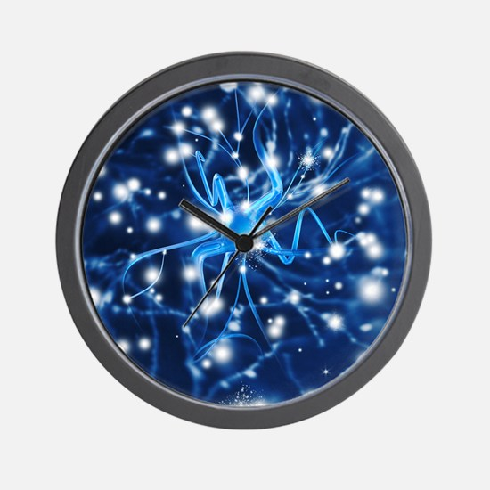 Nerve cell - Wall Clock