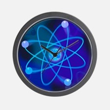 Atomic structure - Wall Clock