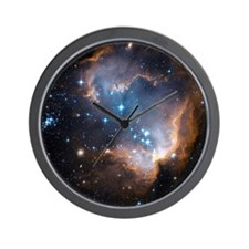 Starbirth region NGC 602 - Wall Clock
