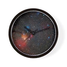Rho Ophiuchi nebulae - Wall Clock