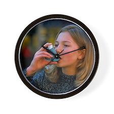 asthma - Wall Clock