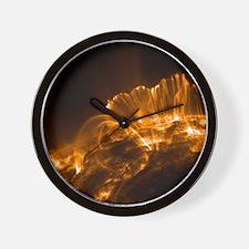 Solar coronal loops, TRACE image - Wall Clock