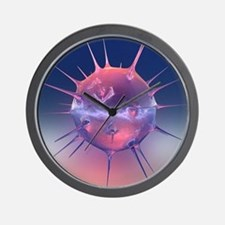 Virus - Wall Clock