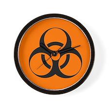 Biohazard sign - Wall Clock