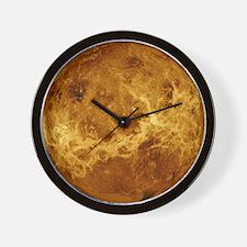 Venus, Magellan image - Wall Clock