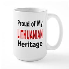 Proud Lithuanian Heritage Mug
