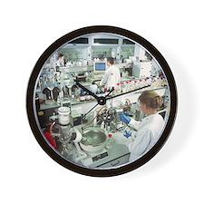 Chemistry laboratory - Wall Clock