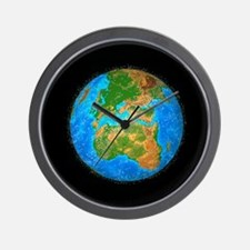 d the earth - Wall Clock