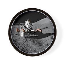 Eugene an on Lunar Rover, Apollo 17 - Wall Clock