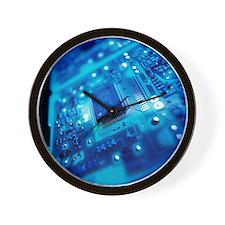 Computer circuit board - Wall Clock