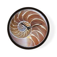 Nautilus shell - Wall Clock