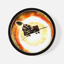 Nuclear bomb-powered spaceship - Wall Clock
