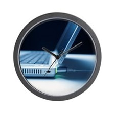 Laptop computer - Wall Clock