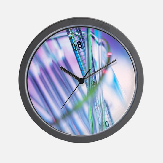 Pipettes - Wall Clock