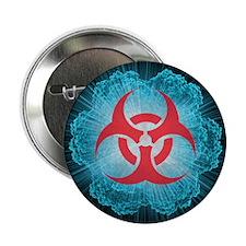 Biohazard symbol and virus - 2.25