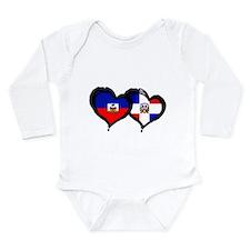 Haiti X Dominican Republic Long Sleeve Infant Body