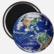 Earth from space, satellite image - Magnet