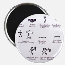 Ideographs, artwork - Magnet