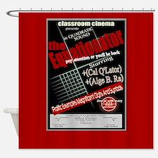 Equationator Classroom Cinema Shower Curtain