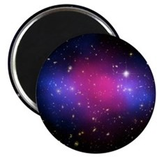 Galaxy cluster collision, X-ray image - Magnet