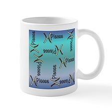Blue Pisces, Sign of the Zodiac Mug