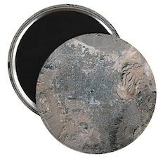 Las Vegas, satellite image, 2009 - Magnet