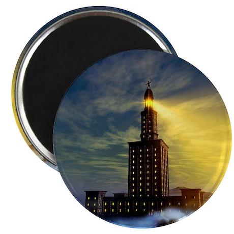 Pharos lighthouse of Alexandria, artwork - Magnet