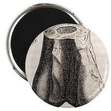 1677 First dinosaur bone by Robert Plot - Magnet