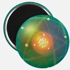 Atomic structure, conceptual artwork - Magnet