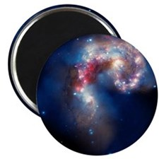 Antennae galaxies, composite image - Magnet