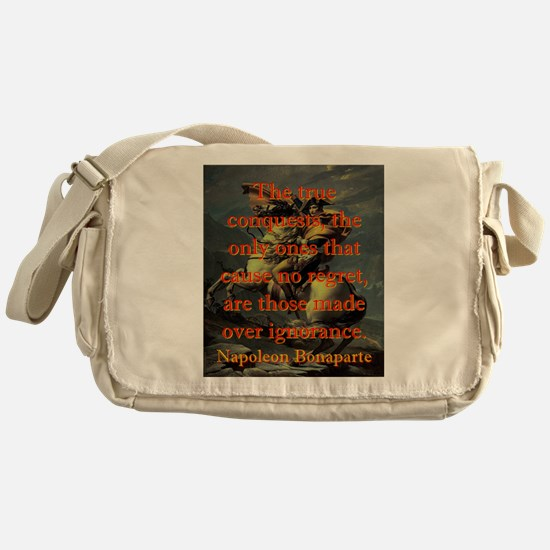 The True Conquests - Napoleon Messenger Bag
