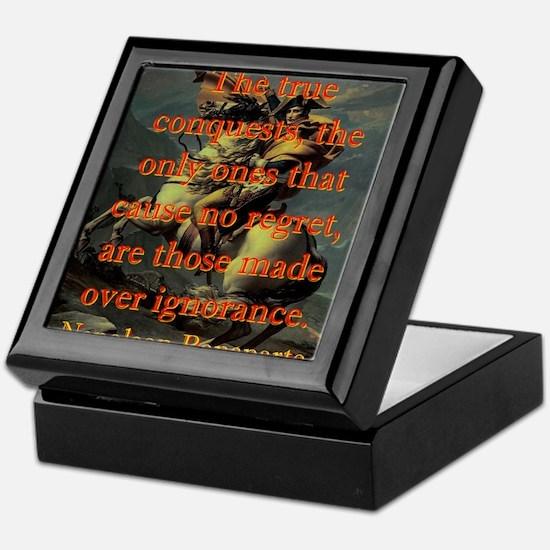 The True Conquests - Napoleon Keepsake Box